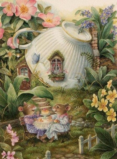 Мышиное чаепитие - схемы