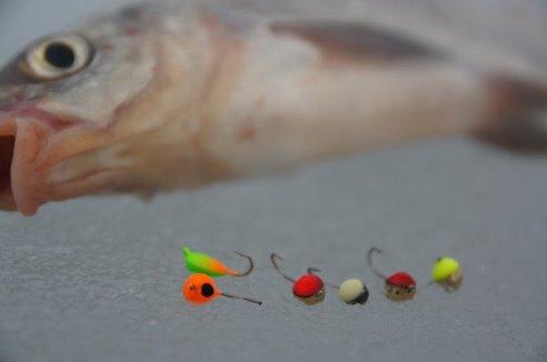 мормышка из пластилина