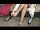 — Fully fashioned stockings mature pt. 1 (фут фетиш, чулки)