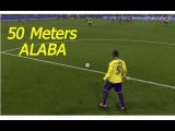 Goal of David Alaba from free kick(50 meters)