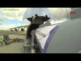 Antonov 225 loading in extreme time lapse by [AirClips]