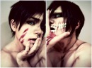 Eren Jaeger Cosplay makeup - shingeki no kyojin - Attack on Titan