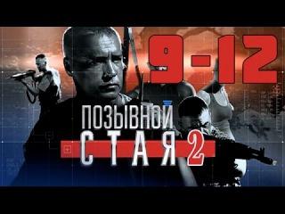 Позывной Стая 2. Серия 9 10 11 12 смотреть онлайн фильм сериал боевик