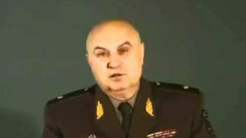 Генерал Петров об том как он бросил пить и курить
