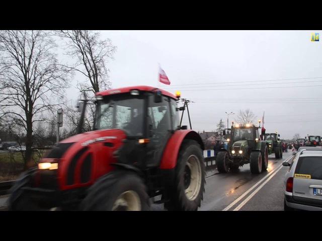 Rolnicy z powiatu radzyńskiego ruszają na strajk do Warszawy