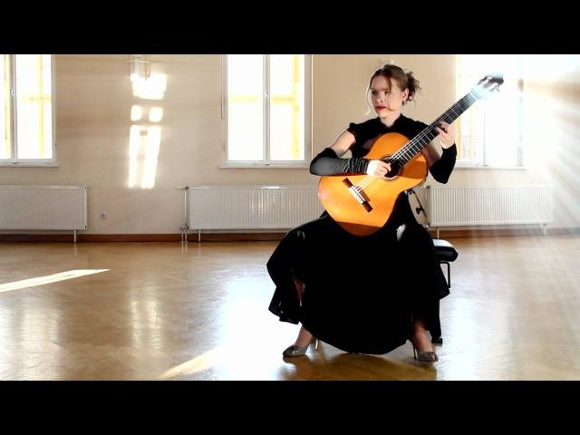 F. Tarrega, Fantasia La Traviata, performed by Tatyana Ryzhkova. Beauty for eyes, ears, heart, and soul.