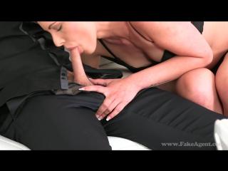 FakeAgent.com/Casting.xxx: Bella - Skinny Brunette Babe Sucks And Fucks In Casting (2015) HD