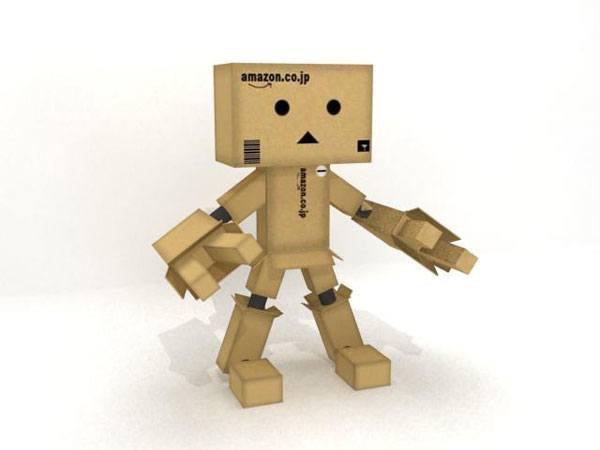 Робот из картона своими руками схема