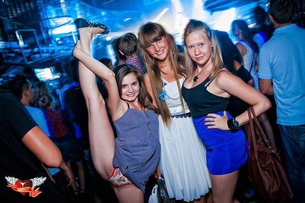 Русские в клубе 15