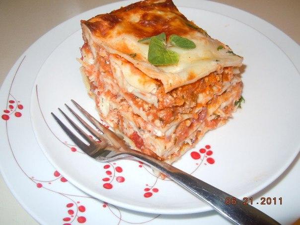 Вкусная лазанья рецепт в домашних условиях