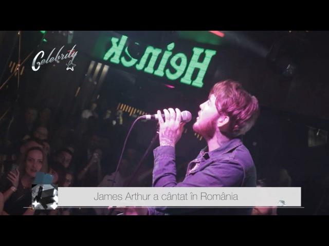 James Arthur a cântat în România