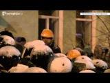 Противостояние на Лютеранской. Декабрь 2013. Киев, Украина.