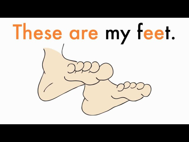 Body Parts Chant for Kids This is These are by ELF Kids Videos