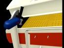 Bh montaż osłon przeciwpyłowych na przesiewaczu Metso Trellex