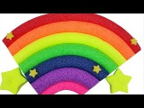 Rainbow Foam Clay Surprise Teletubbies Barbapapa Spider-Man SpongeBob Gogos Shopkins Super Mario