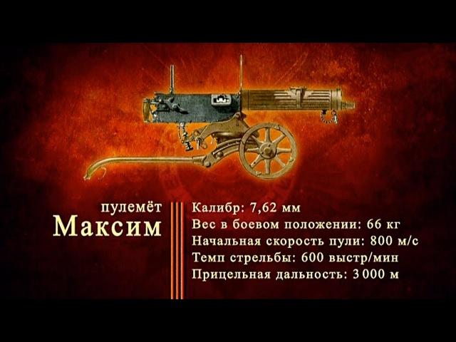 Дф «Оружие Победы» - Пулемет «Максим»