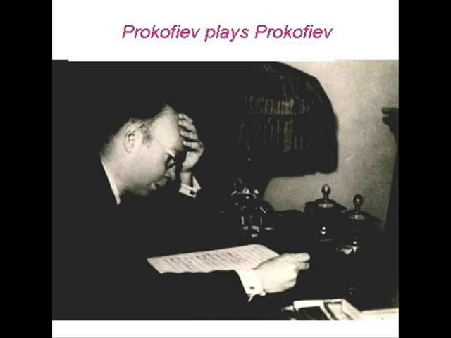Prokofiev-Overture on Hebrew Themes op 34 (Prokofiev plays Prokofiev)