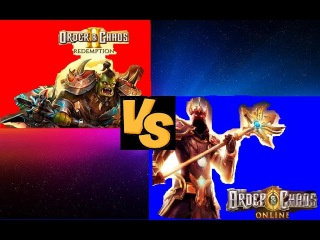 order and chaos 2 vs order and chaos online (сравнение двух ММОРПГ на мобильные  платформы)