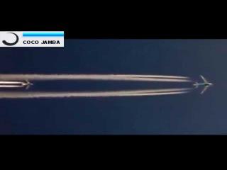 *БОИНГ 747 ИДЕТ НА ОБГОН*  Сьемка из кабины пилота