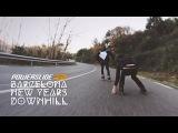 Barcelona new years downhill - Powerslide FSK Inline skates