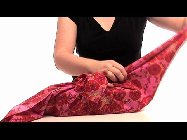 Earth Friendly Gift Wrap. Furochic It!