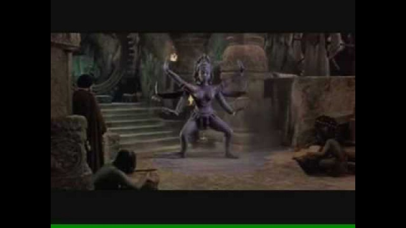 Kali Dances For Koura (The Golden Voyage of Sinbad)