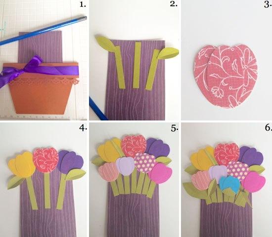 Как сделать из цветной бумаги своими руками поэтапно фото 948