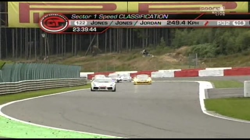 FIA GT 2008. Этап 5 - Спа. Первое включение