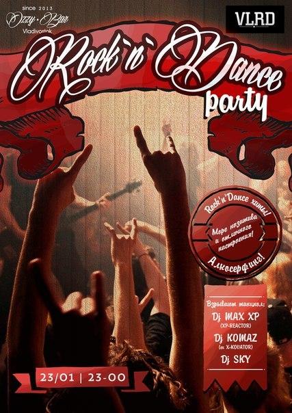 Афиша Владивосток ROCK `N` DANCE PARTY@Ozzy Bar (23.01.2015)