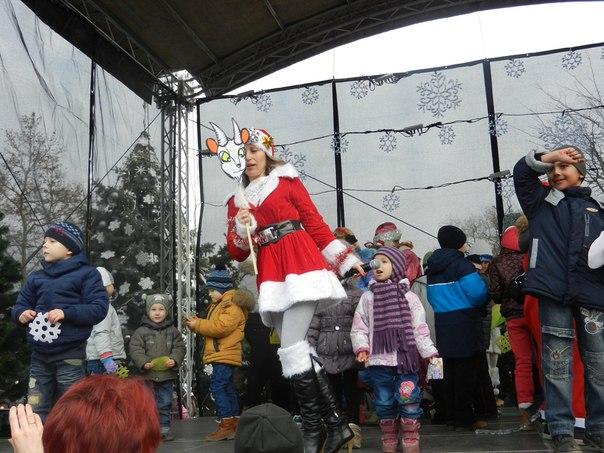 """Ну, и еще немного фото с фестиваля """"Санта Клаус отдыхает, на арене Дед Мороз"""""""