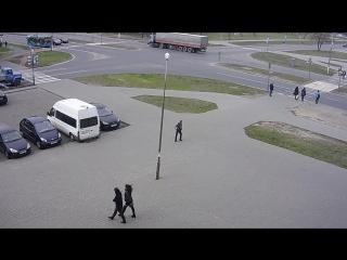 Пример видео наблюдения от