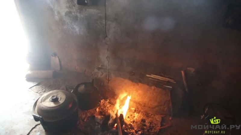Юньнань, Цзингу. Часть 2. Ручное производство чая шэн пуэр в деревне. весна 2015