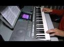 """Ласковый май - """"Белые розы"""" на синтезаторе YAMAHA PSR-S710"""