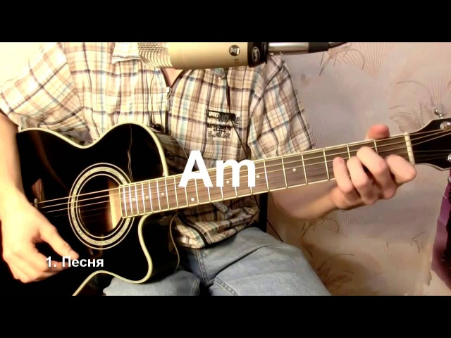 Как играть на гитаре Ваше благородие, госпожа удача... - Б. Ш. Окуджава бой, аккорды, табы, урок