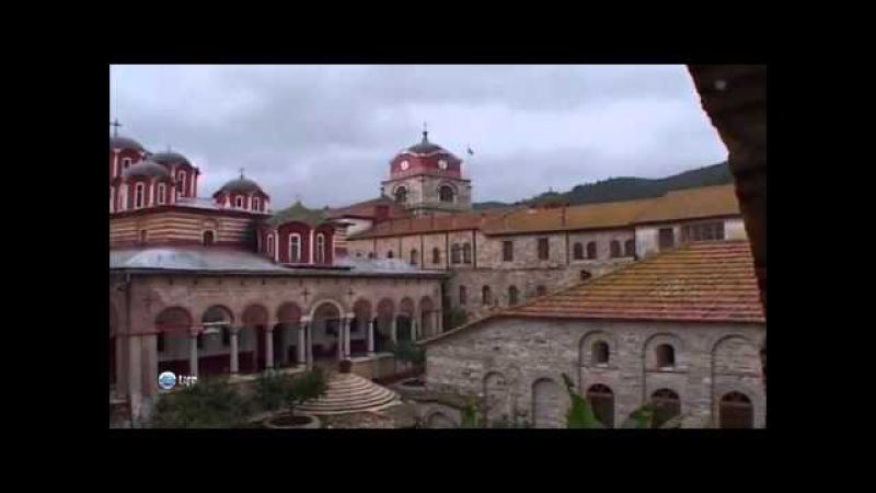 Гора Афон. Греция. Республика монахов