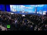 Владимир Путин принимает участие в пленарном заседании ОНФ
