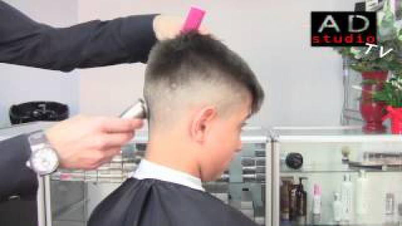 Арсен Декусар - Короткая мужская стрижка | AD studio TV | dekusar.com.ua