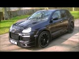 Porsche Cayenne with Techart Style GTS II Body Styling Kit & 22