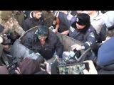 Харьков. Депутата Скоробагача кинули в мусорный бак! Украина новости сегодня