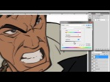 Digital Artist &amp illustrator Patrick Brown Tutorial on how to draw &amp paint Tony Montana of SCARFACE