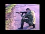 Карабин МА-АК. Стрельба стоя и с колена на 100 метров.