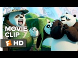 Кунг-фу Панда 3 Фрагмент Kung Fu Panda 3 Movie CLIP - Secret Panda Village (2015) - Animated Movie HD
