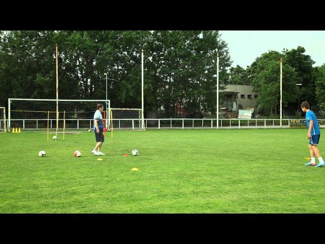 20. Футбольная школа. Урок 6.2. Обучаем слабую ногу.