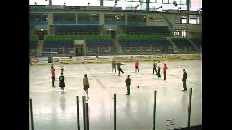 3 Turns Twizzles Exercises Jimmy Young Ice Dance Course Garmisch 2013