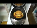 East meets West in our rice cooker when we steam a Big Mac マクドナルドのビッグマックを炊飯器で炊くと激ウマ&#65