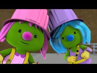 Мультики для детей - Дузеры / Doozers - Подарок для профессора Гимбола - Серия 19