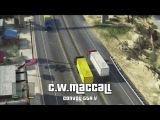 GTA V - C.W McCall Convoy - Gameplay (Truck 2)