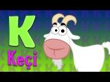 K Harfi - ABC Alfabe SEVİMLİ DOSTLAR Eğitici Çizgi Film Çocuk Şarkıları Videoları