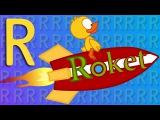 R Harfi - ABC Alfabe SEVİMLİ DOSTLAR Eğitici Çizgi Film Çocuk Şarkıları Videoları