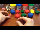 Surprise Eggs Play Doh. Dough. Dora the Explorer and her family. Киндер Сюрприз. Kinder Surprise